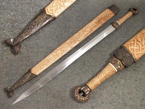 La Tene Style Irish Ring hilt - The Knife Network Forums
