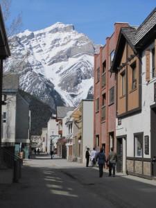 Sept 2012 Banff street