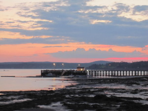 Sept 2014 Sunset St Andrews