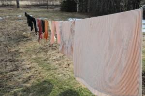 April 2010 laundry
