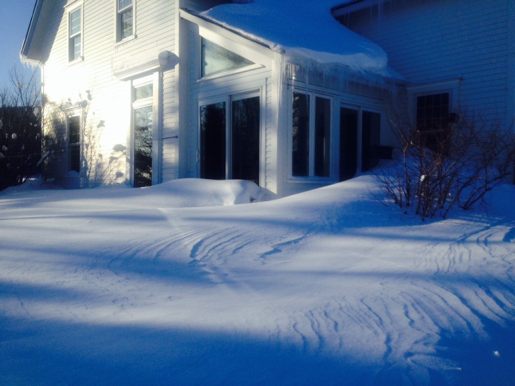 Mrch 2015 bue snow