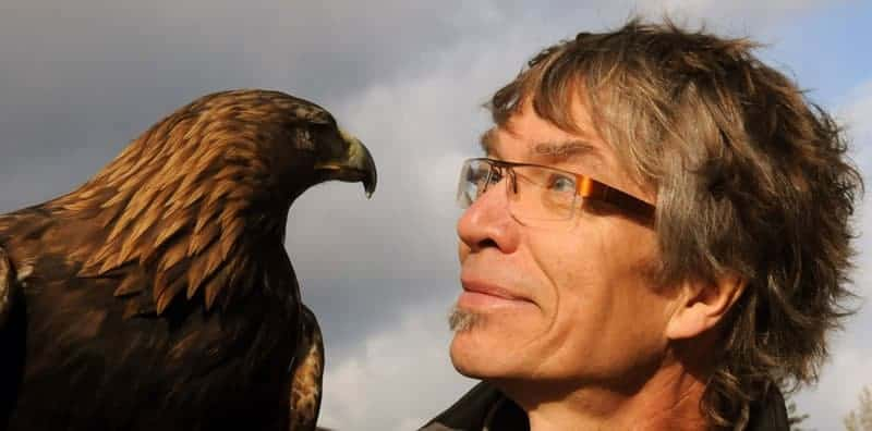 Peter Powning profile photo with eagle