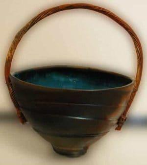Copper Handled Basket