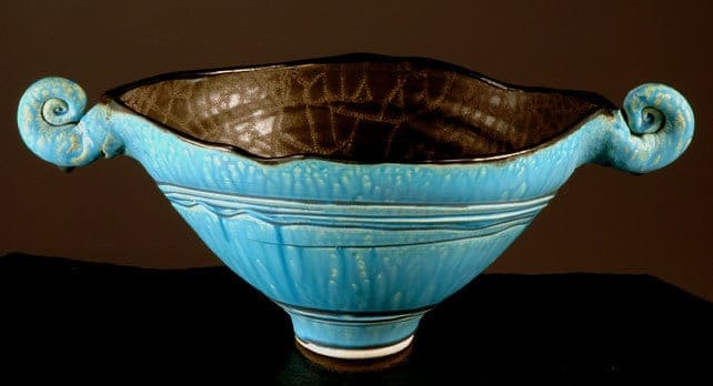 Blue Horned Squeezebowl