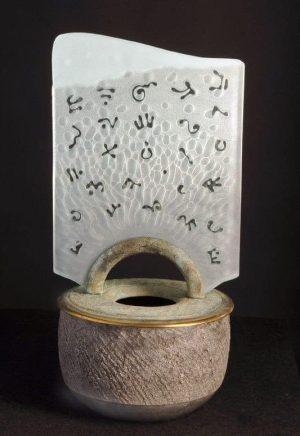 Glyph Arch Vessel
