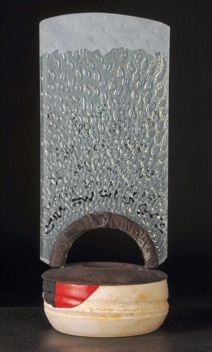 Lunar Glyph Arch Vessel