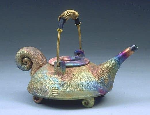 Raku Teapot II